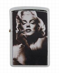 Aansteker zippo-model Marilyn Monroe