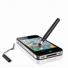 Metal Soft Touch Stylus Pen Zwart Capacitieve Touch Screen